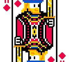 King of Diamonds  by DopePixel