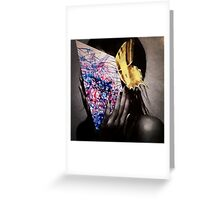 """""""Butterfly Girl""""  Greeting Card"""