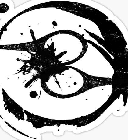 Severed Scissors Logo - no words Sticker