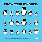 Know Your Penguins by PepomintNarwhal