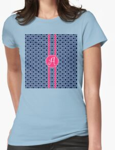 Curlzy A Womens Fitted T-Shirt