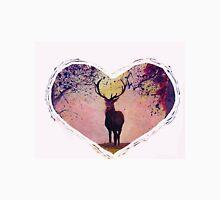 Deer with heart - Hirsch Herz Unisex T-Shirt