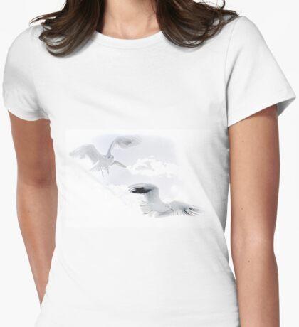 Gulls............. Womens Fitted T-Shirt