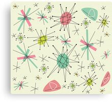 Atomic 50s Canvas Print