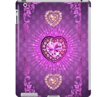 PURPLE PURPLE PURPLE HEARTS iPad Case/Skin
