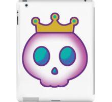 Cute Skull with Crown iPad Case/Skin