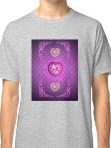 PURPLE PURPLE PURPLE HEARTS Classic T-Shirt