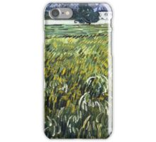 Vincent Van Gogh - House at Auvers, 1890 iPhone Case/Skin