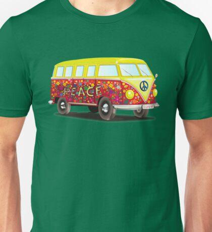Hippie Van Peace Unisex T-Shirt