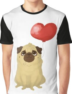 Pug love Graphic T-Shirt