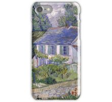 Vincent Van Gogh - Houses at Auvers, December 1885 - February 1886 iPhone Case/Skin