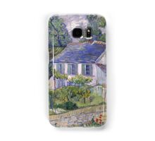 Vincent Van Gogh - Houses at Auvers, December 1885 - February 1886 Samsung Galaxy Case/Skin