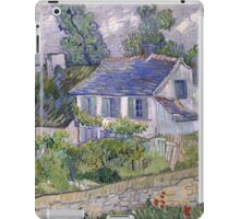 Vincent Van Gogh - Houses at Auvers, December 1885 - February 1886 iPad Case/Skin