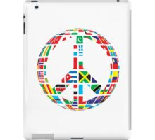 World Peace Love iPad Case/Skin