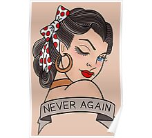 never again Poster