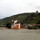 River Rhine Customs Castle by Woodie