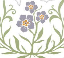 Forget-me-not (myosotis) flower Sticker
