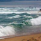 Crashing Waves by WendyJC