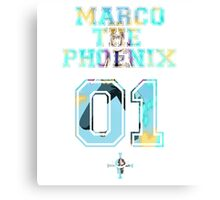 Marco The Phoenix  Canvas Print