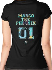 Marco The Phoenix  Women's Fitted Scoop T-Shirt