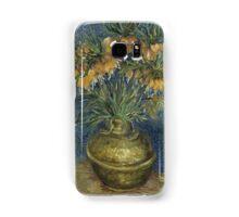 Vincent Van Gogh - Imperial Fritillaries in a Copper Vase, 1887 Samsung Galaxy Case/Skin