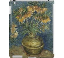Vincent Van Gogh - Imperial Fritillaries in a Copper Vase, 1887 iPad Case/Skin