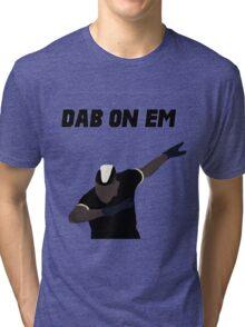 Pogba - Dab on Em Celebration minimalist Tri-blend T-Shirt