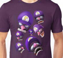 Waluigi Face Compilation Unisex T-Shirt