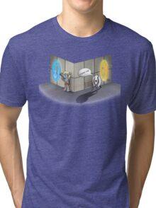The Muffin is a Lie Tri-blend T-Shirt