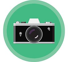 Analogic Camera Photographic Print