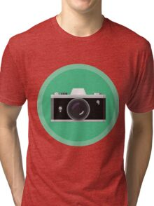 Analogic Camera Tri-blend T-Shirt