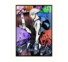 Death Parade - Game of Death Art Print