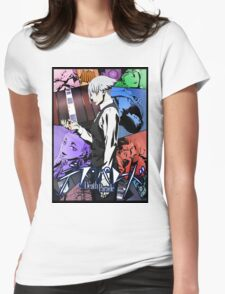 Death Parade - Game of Death Womens Fitted T-Shirt