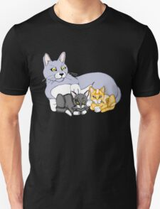 Mothers Love Cat and Kittens Unisex T-Shirt