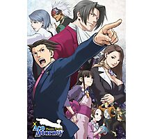 Ace Attorney - Trilogy Photographic Print