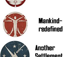 Fallout 4 factions by MisterFoster