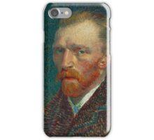 Vincent Van Gogh - Self-Portrait, 1887  Impressionism iPhone Case/Skin