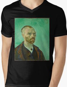 Vincent Van Gogh - Self-Portrait Dedicated to Paul Gauguin, 1888 Mens V-Neck T-Shirt