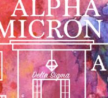 Alpha Omicron Pi Chapter House Sticker