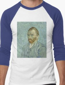 Vincent Van Gogh - Self-Portrait 2, 1889 Men's Baseball ¾ T-Shirt