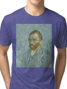 Vincent Van Gogh - Self-Portrait 2, 1889 Tri-blend T-Shirt