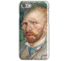 Vincent Van Gogh - Self-portrait 2, 1887 iPhone Case/Skin