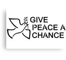 Beatles Hippie Peace Canvas Print