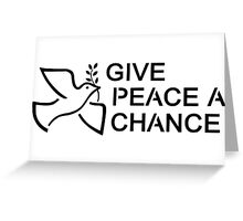 Beatles Hippie Peace Greeting Card