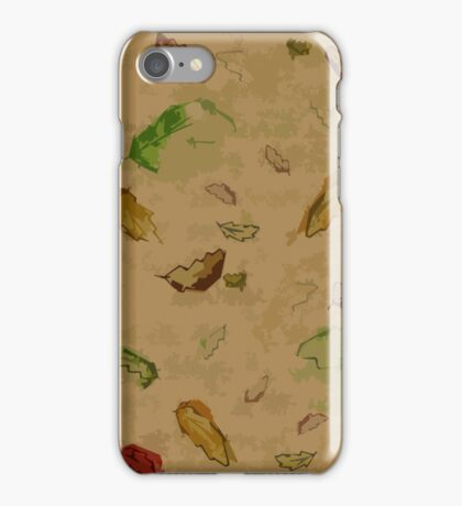 Oak Leaves 2 iPhone Case/Skin