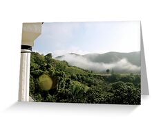Haitian Afternoon Greeting Card