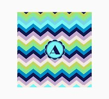 A Turquois Chevron III Unisex T-Shirt