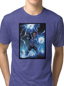 Black Lightning Tri-blend T-Shirt