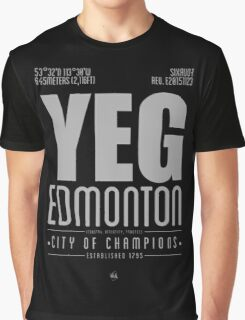YEG - Edmonton Graphic T-Shirt