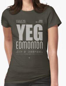 YEG - Edmonton Womens Fitted T-Shirt